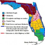 A True Map of Florida joke email